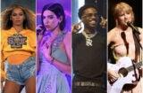 Grammys 2020 Beyonce Dua Lipa Roddy Ricch Taylor Swift