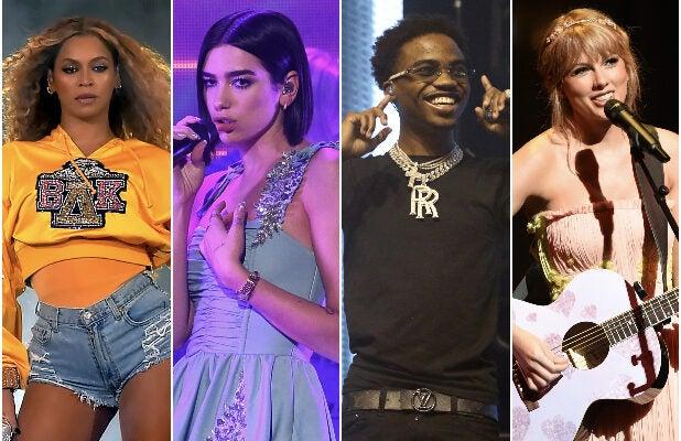 2021 Grammy Nominations: Beyoncé, Dua Lipa, Taylor Swift Lead Pack