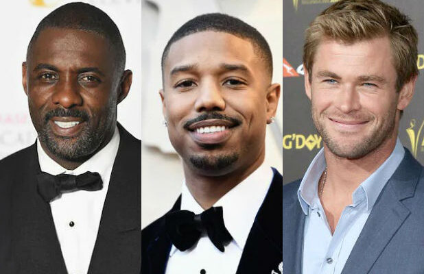 Idris Elba Michael B Jordan Chris Hemsworth Sexiest Man Alive People