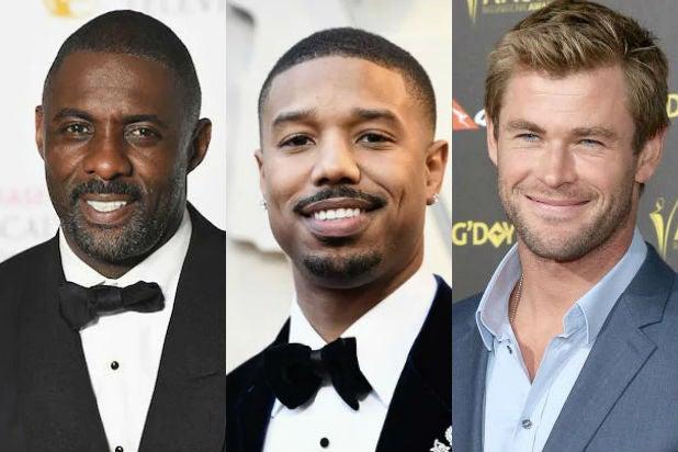 Idris Elba Michael B Jordan Chris Hemsworth Sexiest Man Alive People