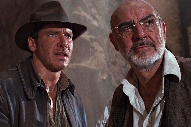 Harrison Ford Sean Connery Indiana Jones and the Last Crusade