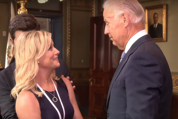 That Time Amy Poehler's Leslie Knope Gushed Over 'Precious Cargo' Joe Biden (Video)