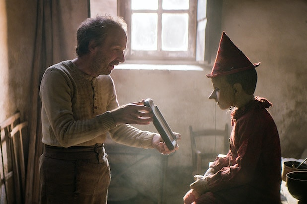 Roberto Benigni Pinocchio Matteo Garrone
