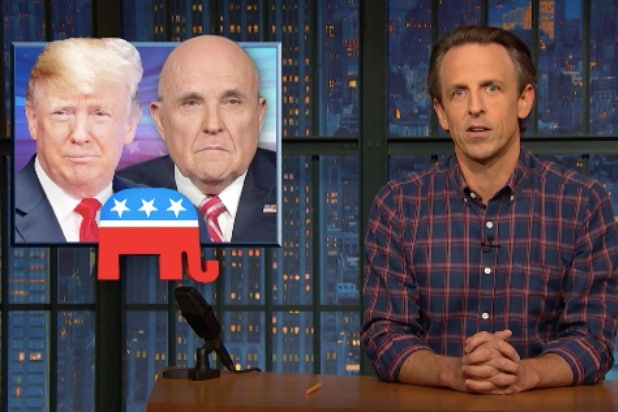 Seth Meyers Jokes Trump Has Turned Into a 'JD Salinger-Level Recluse' Since Election (Video)