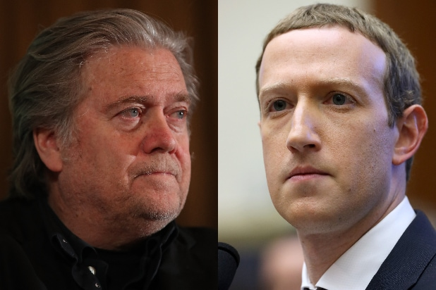 Steve Bannon, Mark Zuckerberg