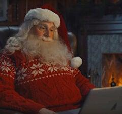 Steve Carell santa