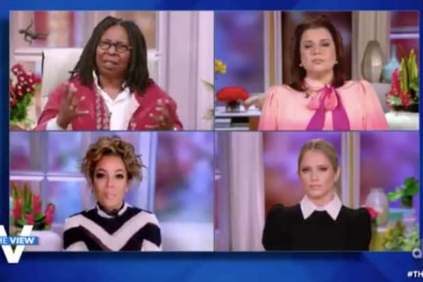 'The View' Rips Trump for Wooing Michigan Lawmakers: 'It's a Coup!' (Video)