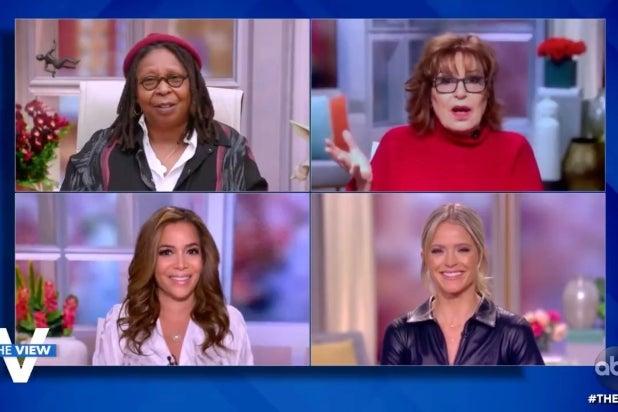 Joy Behar Jokes 'Body Snatchers Have Gotten to Maria Bartiromo' After Trump Interview (Video)