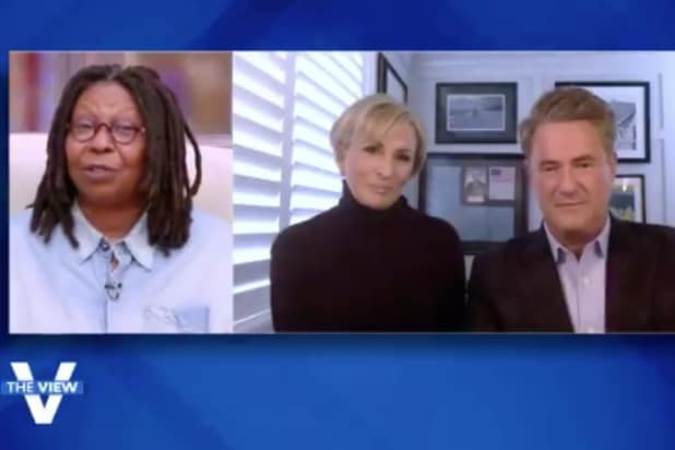 'Morning Joe' Hosts Visit 'The View' to Trash Trump's Bizarre, One-Minute Briefing (Video)