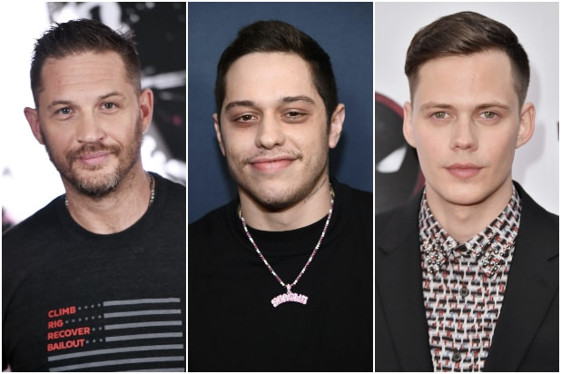 Tom hardy Pete Davidson Bill Skarsgard The Things They Carried