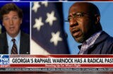 Tucker Carlson Struggles to Pronounce 'Incontrovertible' While Bashing Rev Warnock