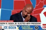 CNN's Victor Blackwell Bursts Into Tears As Biden Elected: 'Telling the Truth Matters' (Video)