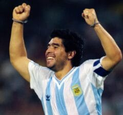 Diego Maradona 1990 World Cup