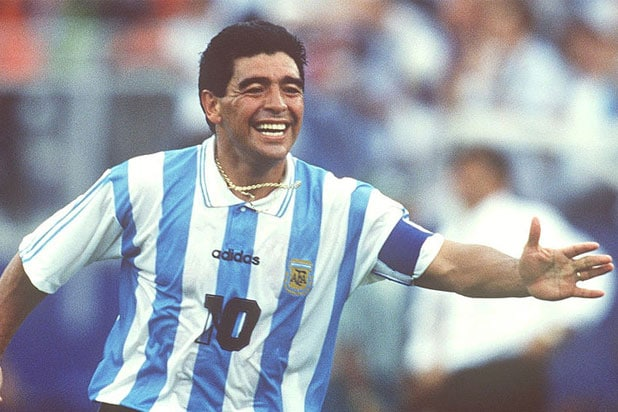 Diego Maradona in the 1994 World Cup