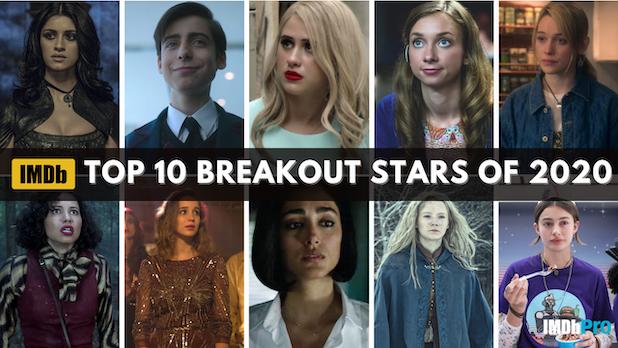 imdb top breakout stars 2020