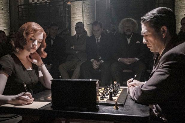 queen's gambit chess