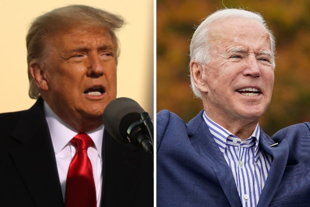 Donald Trump Joe Biden Election 2020