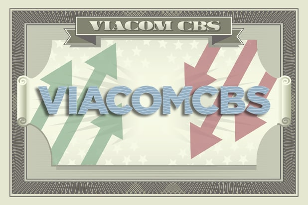 ViacomCBS dollar bill graphic
