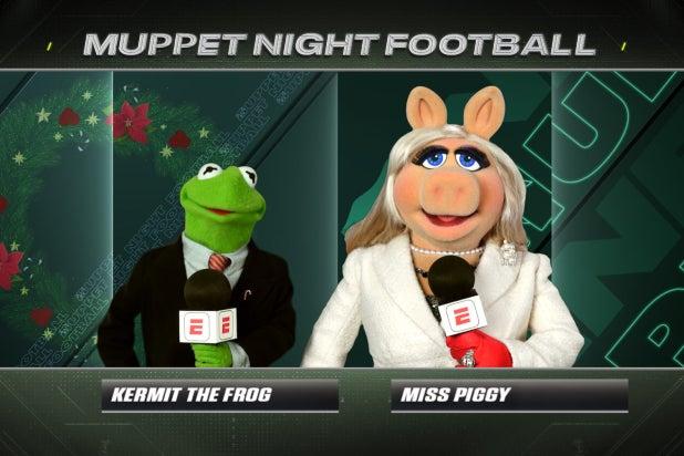 Monday Night Football Muppets
