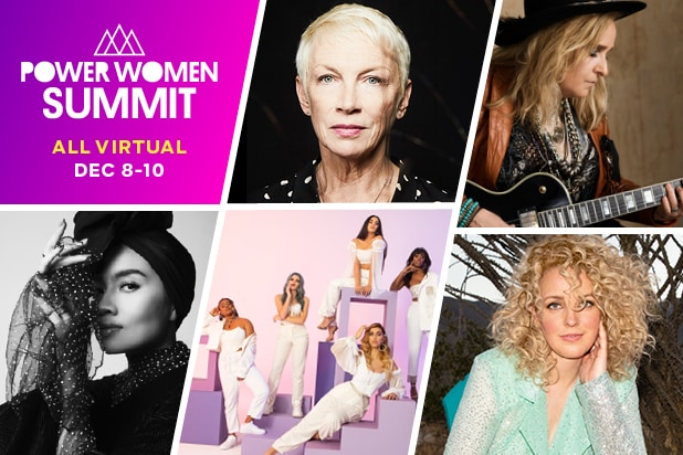 Annie Lennox, Melissa Etheridge Perform for COVID-19 Relief at Power Women Summit 2020