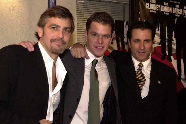 2001 George Clooney Matt Damon Andy Gracia Oceans Eleven