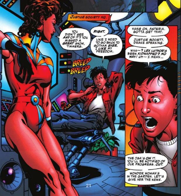 Asteria in Elseworld's Finest: Supergirl & Batgirl Page 21