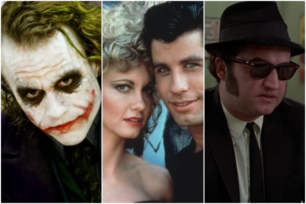 Dark Knight Grease Blues Brothers National Film Registry