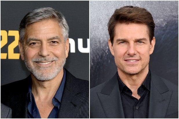 George Clooney Tom Cruise