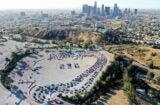 Los Angeles COVID-19 testing lines