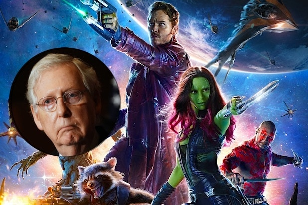 Guardians of the Galaxy Mitch McConnell