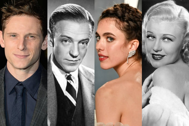 Jamie Bell Fred Astaire Margaret Qualley Ginger Rogers