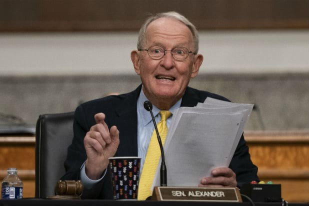 Lamar Alexander, September 23 Senate Hearing