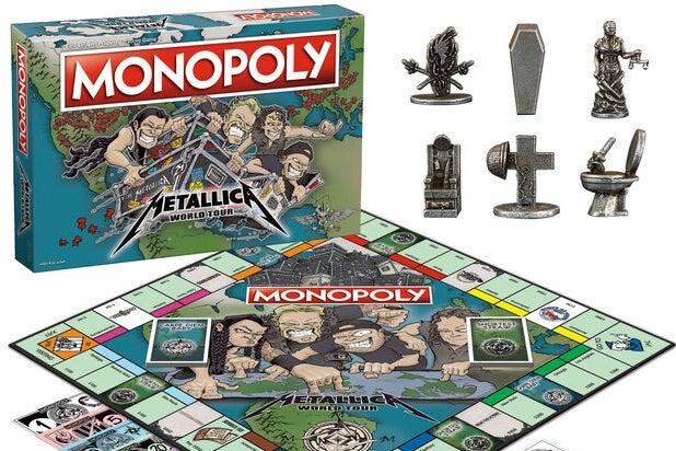 Metallica Monopoly Board