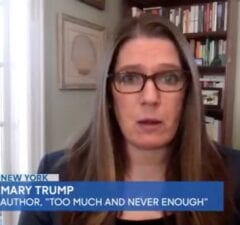 Trump's Niece Mary Roasts His Post-Election Behavior: 'We're Seeing a Very Desperate Man' (Video)