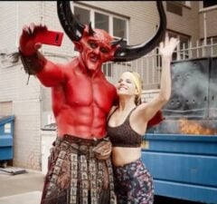 Satan and 2020 Are a 'Match Made in Hell' in Taylor Swift and Ryan Reynolds' Match.com Ad (Video)