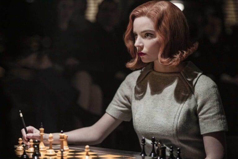 """Anya Taylor-Joy in """"The Queen's Gambit"""""""