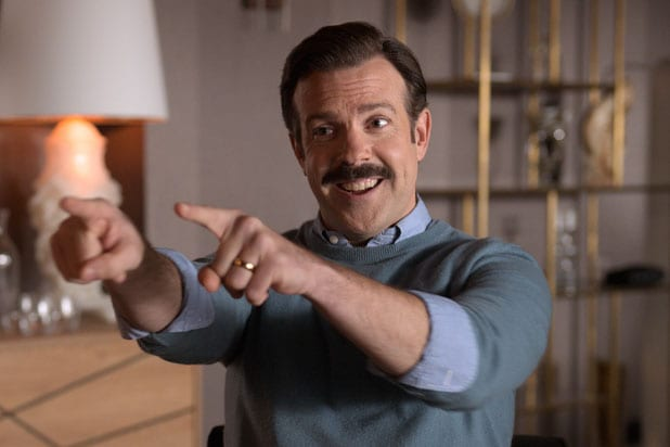 """Jason Sudeikis in """"Ted Lasso"""""""