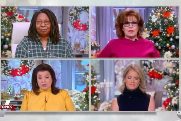 'The View' Slow-Claps Mitch McConnell for Finally 'Admitting What Happened 6 Weeks Ago' (Video)