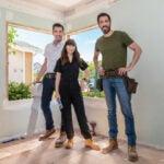 "Zooey Deschanel, Jonathan Scott and Drew Scott on HGTV's ""Celebrity IOU"""