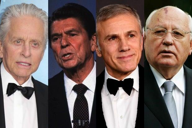 douglas waltz reagan Gorbachev