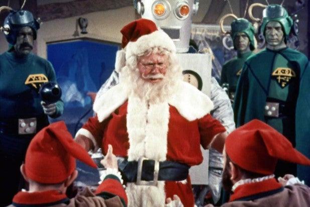 John Call Santa Conquers the Martians