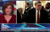 judge jeanine is mad at bill barr