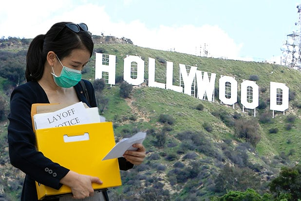 hollywood layoff pandemic