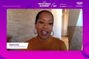 Regina King One Night in Miami Power Women Summit