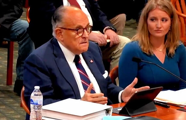 rudy giuliani spreading misinformation about the election in michigan
