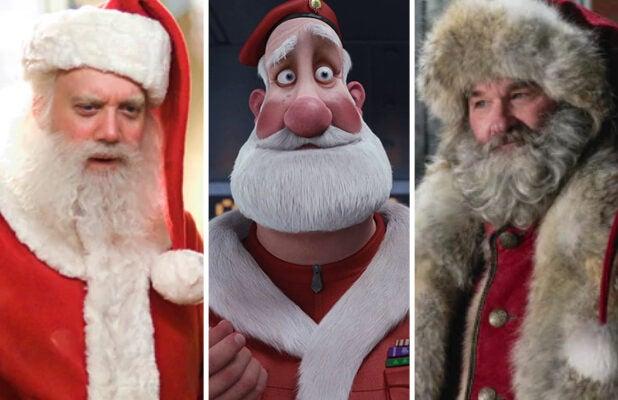 Santa Claus Split