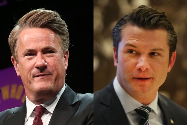 Joe Scarborough Pete Hegseth