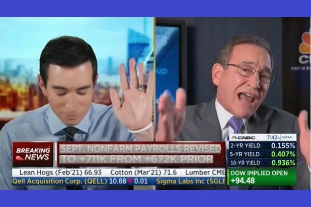 Andrew Ross Sorkin Rick Santelli CNBC Squawk Box