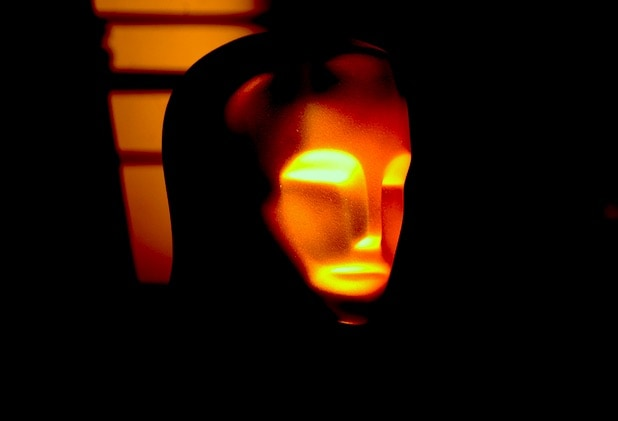 spooky Oscar statue
