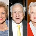 actors in 90s betty white mel brooks angela lansbury